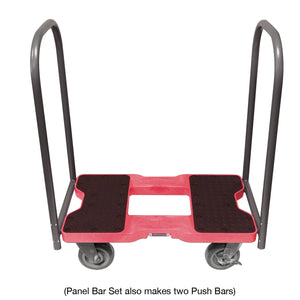 1,800 lb Super-Duty E-Track Panel Cart Dolly Red