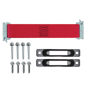E-Track Single Safety Tie-Down Anchor Kit 3,000 lb