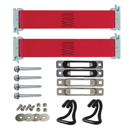 E-Track Single Hang-It Tie-Down Anchor Kit 3,000 lb
