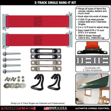 Load image into Gallery viewer, E-TRACK SINGLE HANG-IT KIT 3000 lb