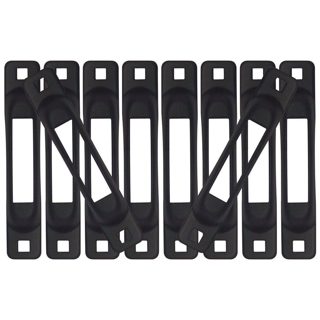 Black Snap-Loc E-Track Single Strap Anchor 10-Pack