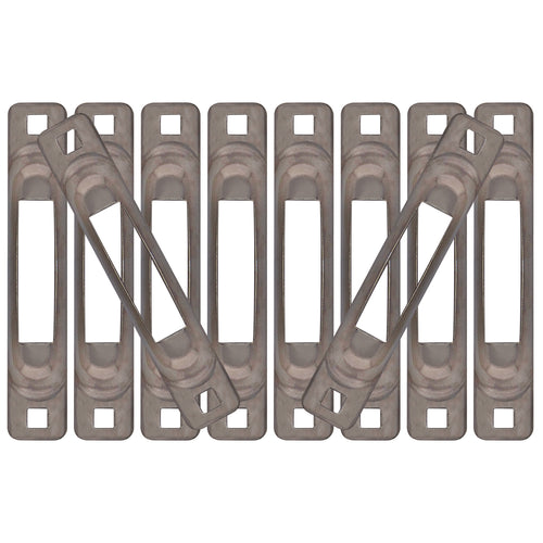 Stainless Snap-Loc E-Track Single Strap Anchor 10-Pack