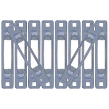 Load image into Gallery viewer, Zinc Snap-Loc E-Track Single Strap Anchor 10-Pack