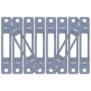 Zinc Snap-Loc E-Track Single Strap Anchor 10-Pack
