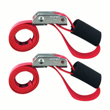 1 in x 3 ft Cinch Strap Cam Tie-Down 1,500 lb 2-Pack