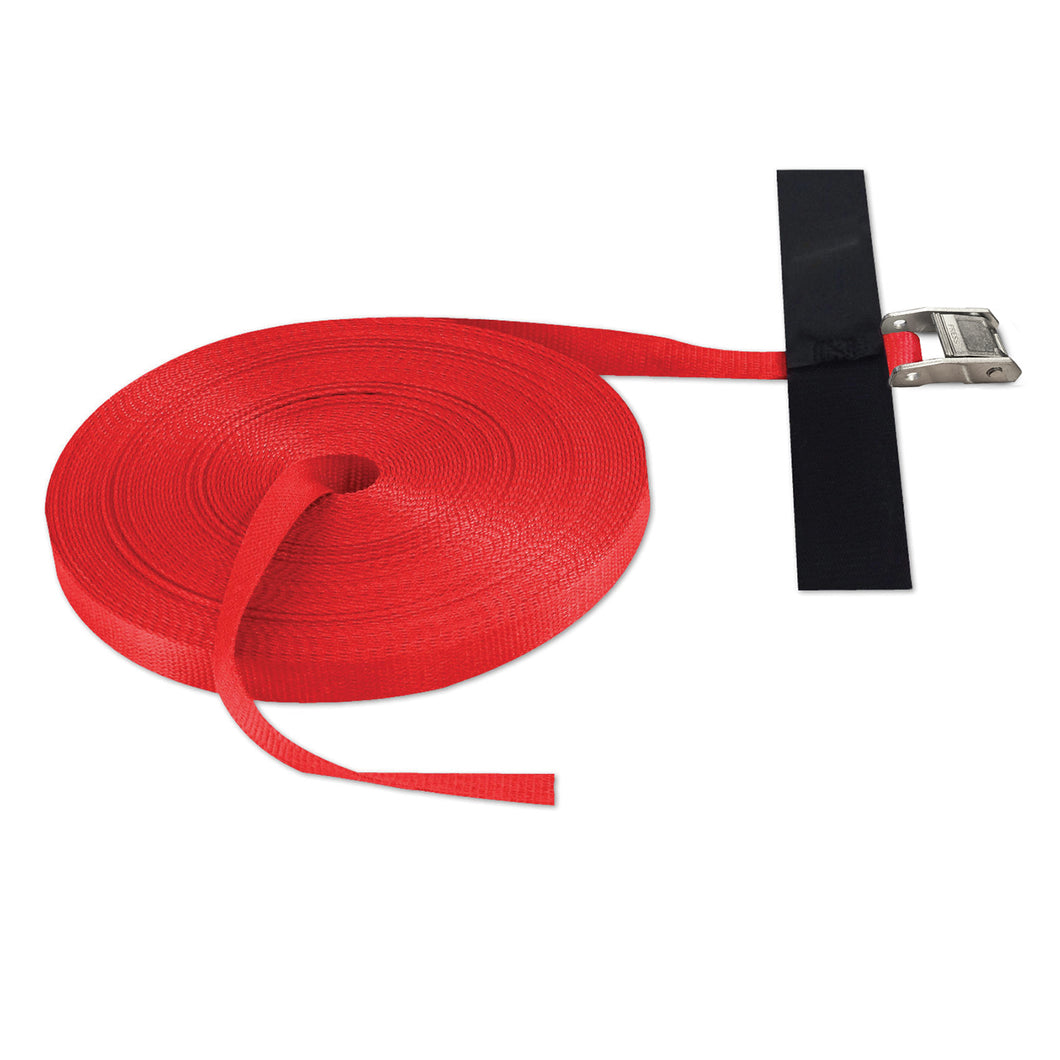 1 in x 100 ft Cinch Strap Cam Tie-Down 1,500 lb