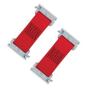 2 x 6 Inch Snap-Loc Dolly Connector, E-Track Tie-Down Strap 4,400 lb 2-Pack