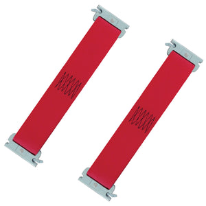 2 x 12 Inch E-Track Tie-Down Strap Multi-Purpose 4,400 lb 2-Pack