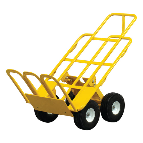 750 lb Capacity All-Terrain 4 Wheel E-Track Hand Truck Cart