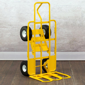 750 lb ALL-TERRAIN 4 WHEEL E-TRACK HAND TRUCK CART