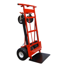 2,000 lb Capacity Extreme Duty 6 Wheel 3-In-1 E-Track Hand Truck Cart