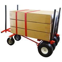 Load image into Gallery viewer, 2000 lb EXTREME-DUTY 6 WHEEL 3-IN-1 E-TRACK HAND TRUCK CART