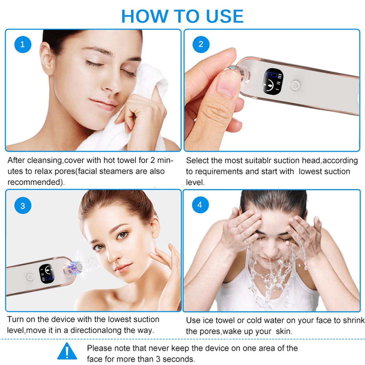 How Do You Use The Blackhead Remover Tool