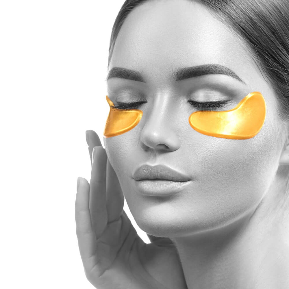 15 Pairs 24k Gold Collagen Eye Mask For Anti-aging And Eye Bags Reduction