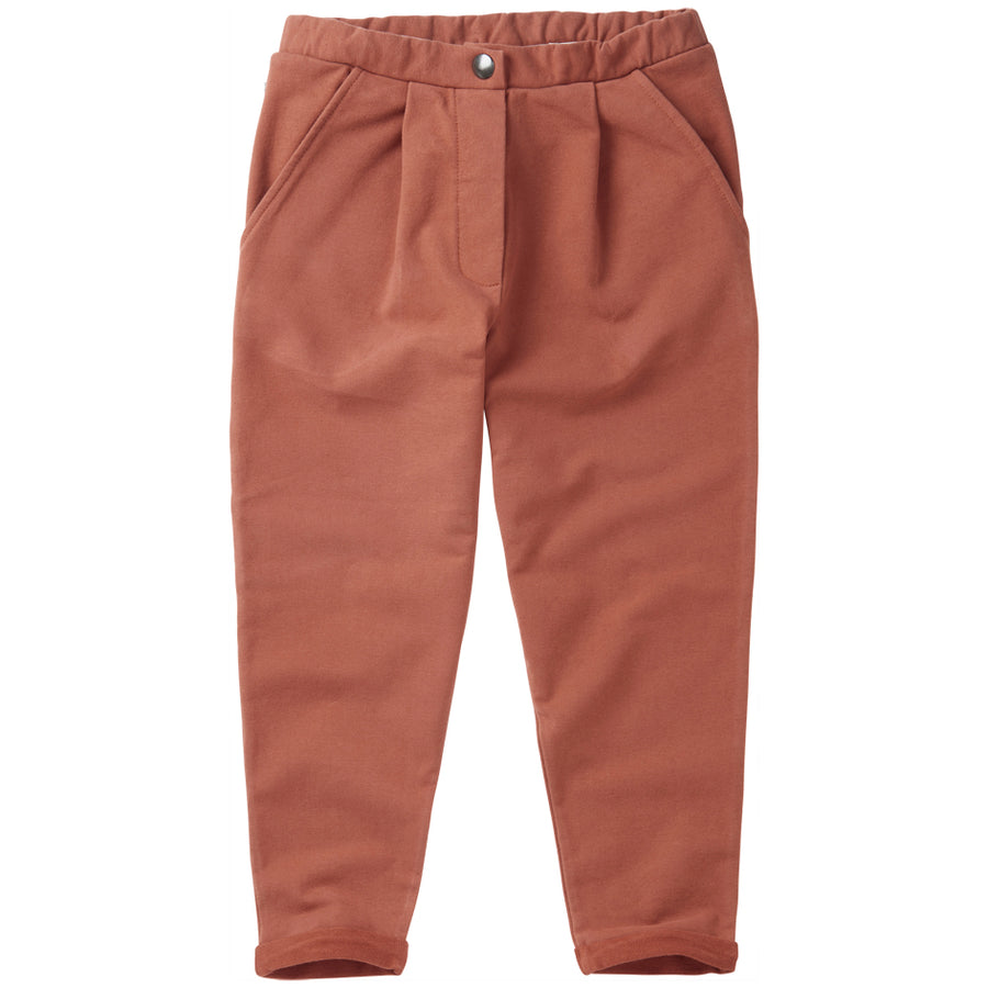 SS21  Cropped Chino Sienna Rose