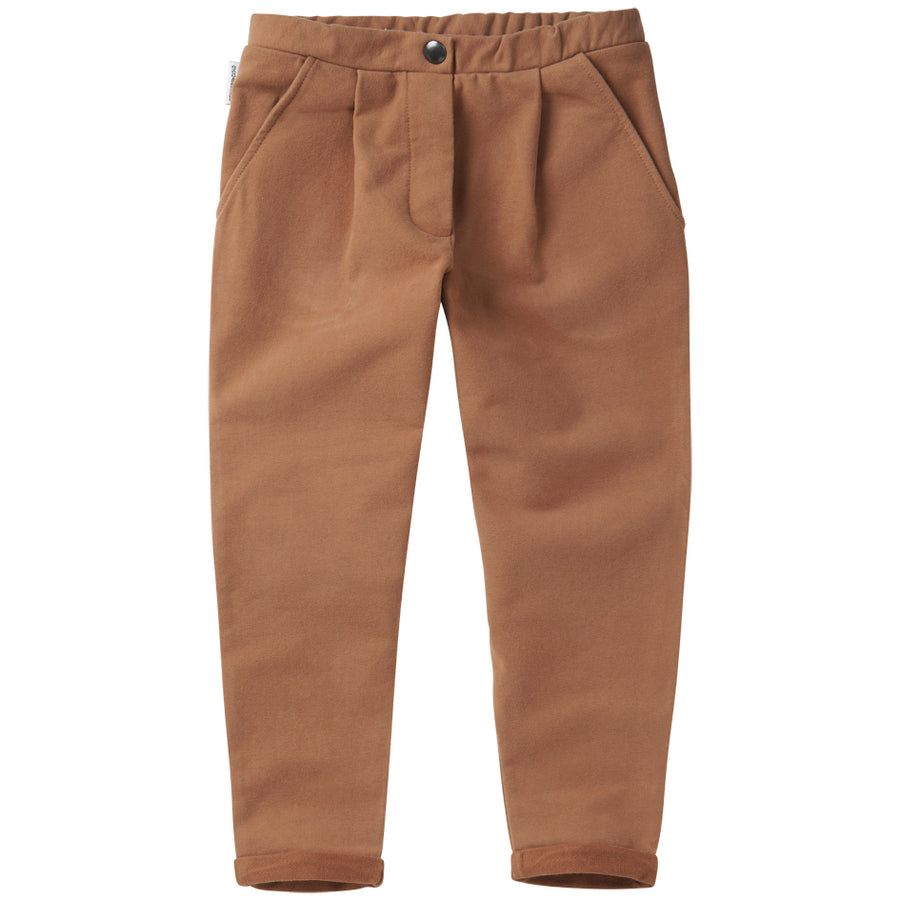 SS21  Cropped Chino Warm Earth