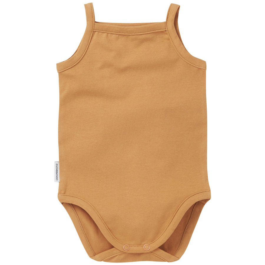 SS21 Bodysuit Singlet  Light Ochre