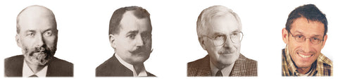 Four generations of Josef Seibel. From left to right: Carl-August Seibel, Josef Seibel, Josef Clemens Seibel, Carl-August Seibel