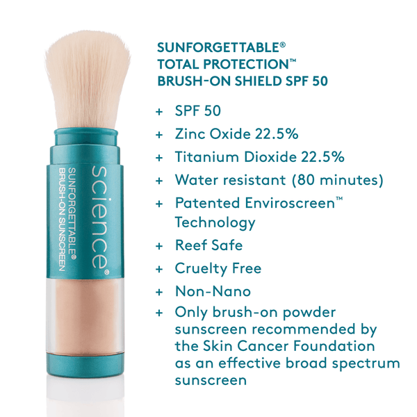 SUNFORGETTABLE TOTAL PROTECTION DUO KIT SPF 50