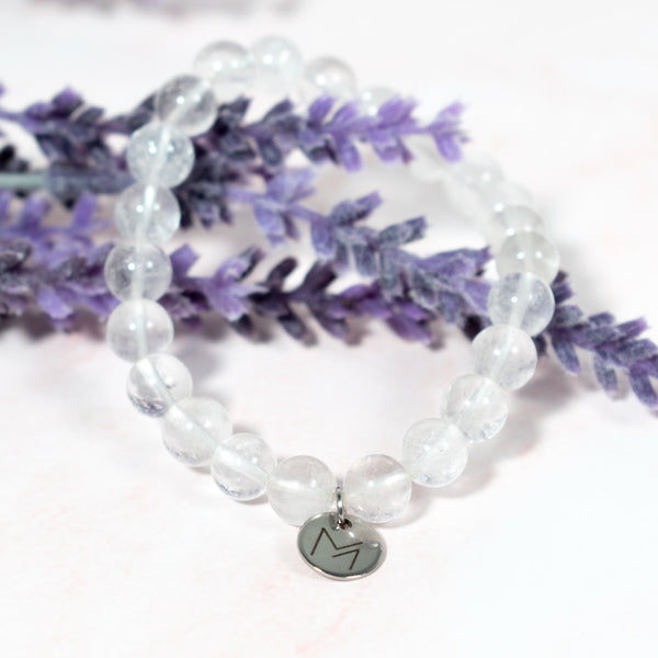 Clear Quartz Crystal Bracelet