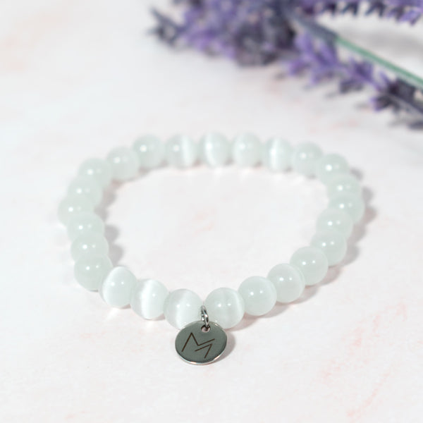 Cat's Eye Quartz Crystal Bracelet