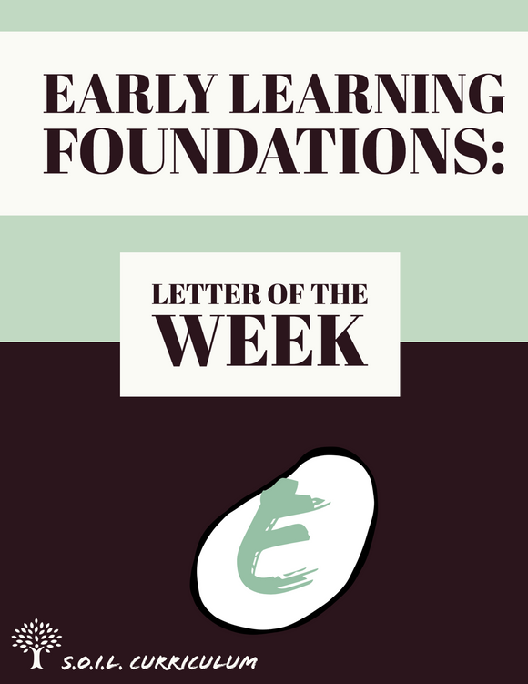 Letter of the Week: E