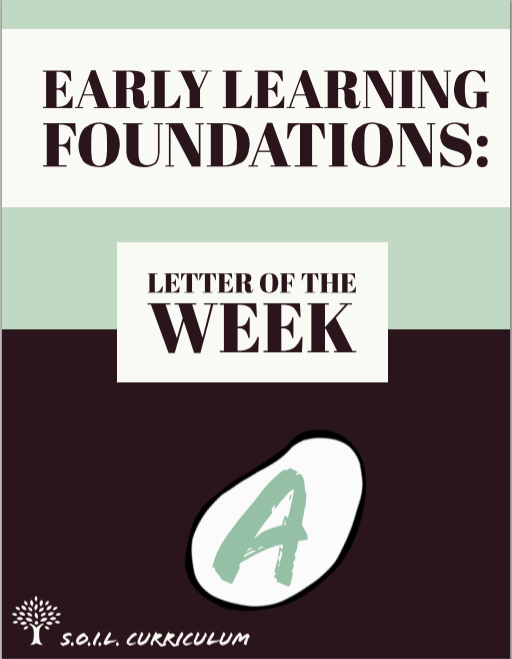 Letter of the Week: A