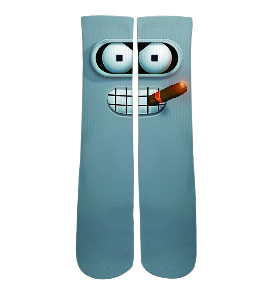 Cool Socks- Bender Futurama socks