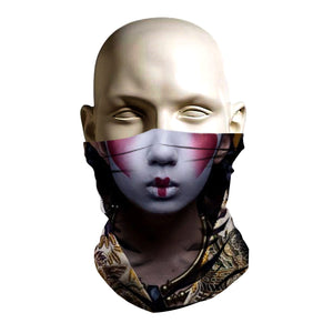 Face Mask - Lady Geisha design