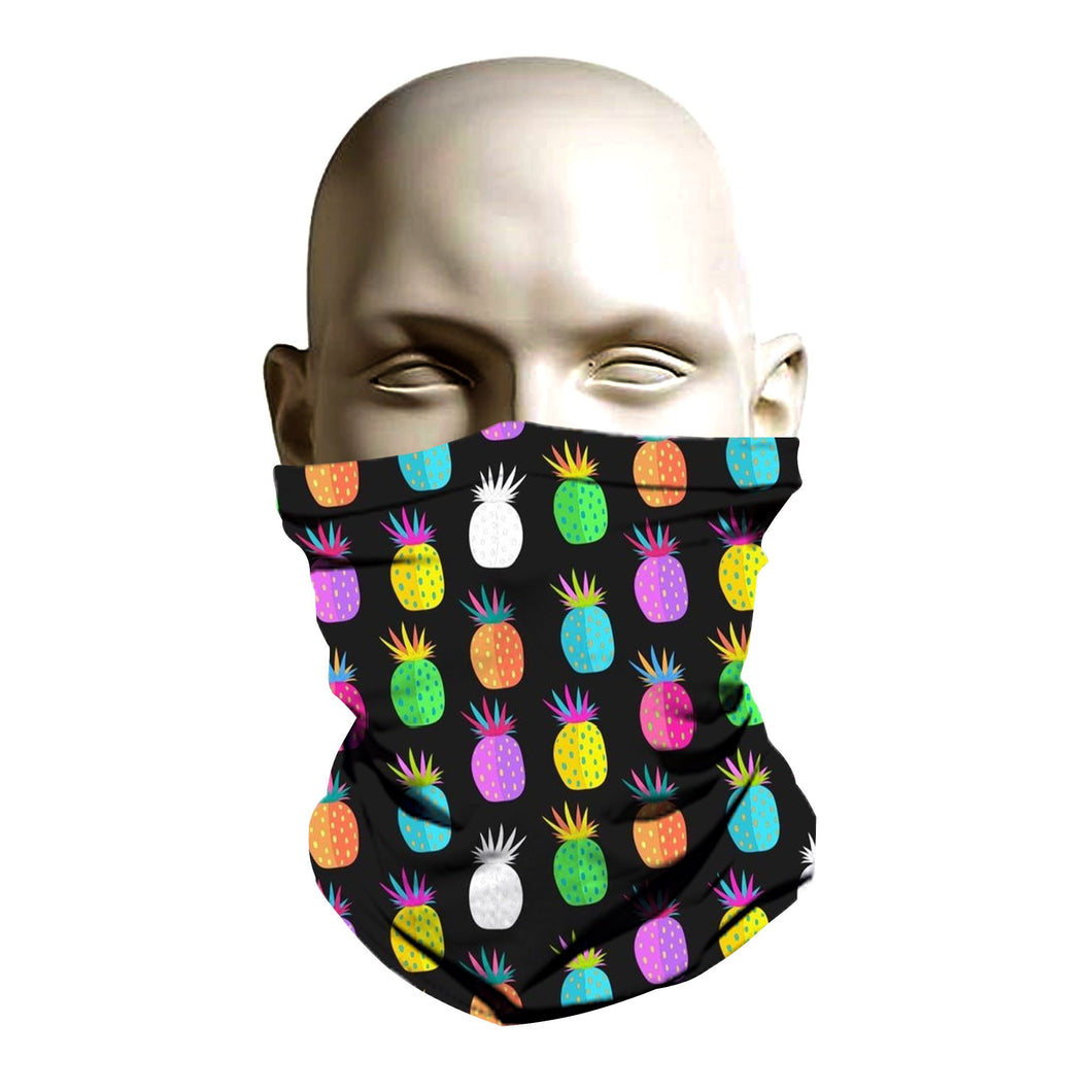 Face Mask - Pineapple pattern design