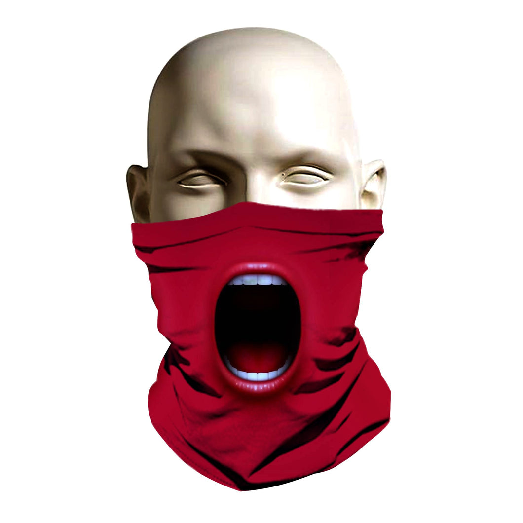 Face Mask - Red Face design