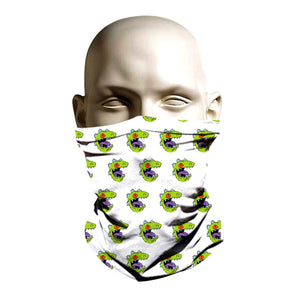 Ski Mask face shield - Raptor Rugrats design