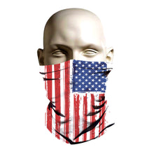 Load image into Gallery viewer, Ski Mask face shield - Amercian Flag design