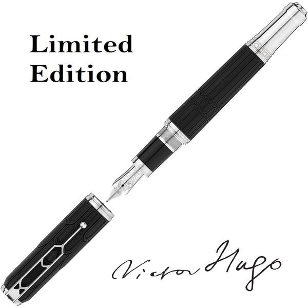 Montblanc stilografica Writers Edition Homage to Victor Hugo Edizione Limitata punta M 125510