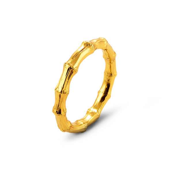 Giovanni Raspini Bamboo bracelet PVD yellow gold finish 7945