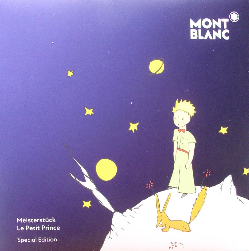 Montblanc penna a sfera meisterstuck Le Petit Prince solitaire le grand 118047