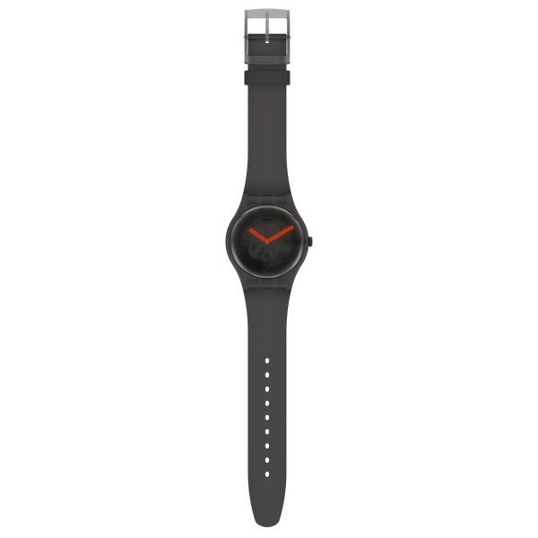 Swatch orologio BLACK BLUR 41mm Originals New Gent SUOB183