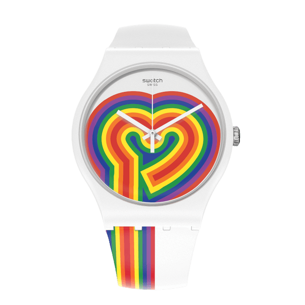 Swatch watch BEATING LOVE 41mm Originals New Gent SUOW171