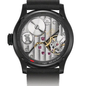 Mido orologio Multifort Mechanical Skeleton Limited Edition 44mm carica manuale titanio M032.605.47.410.00