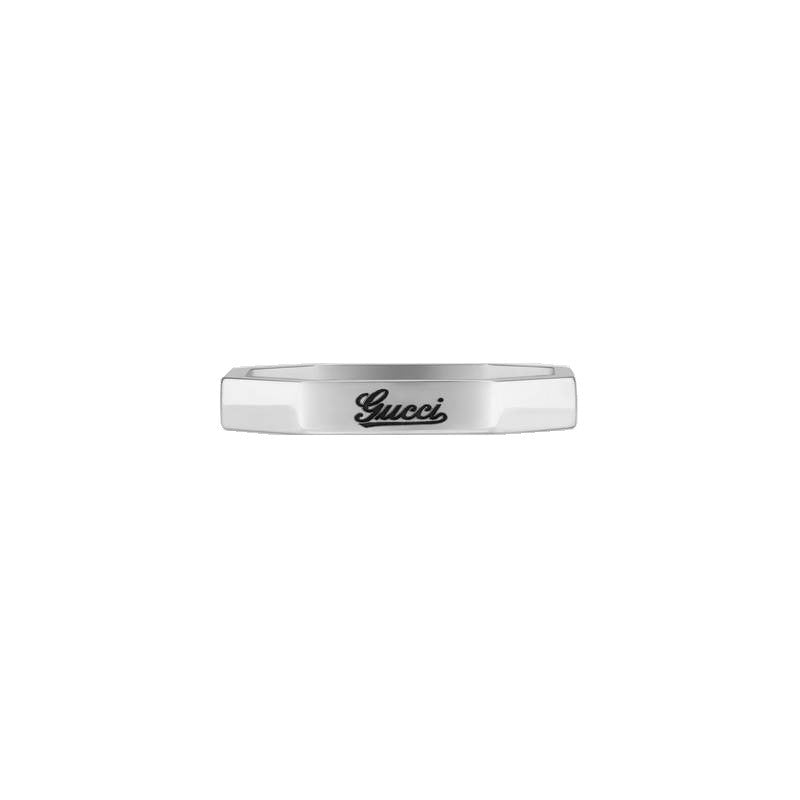 Gucci ring 18kt white gold size 12 201946 J8500 9000