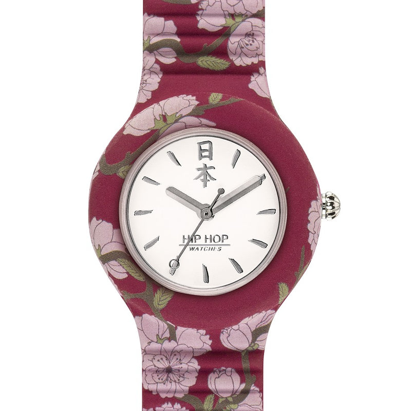 Hip Hop orologio donna CHERRY 32mm I Love Japan collection HWU0863 - Gioielleria Capodagli