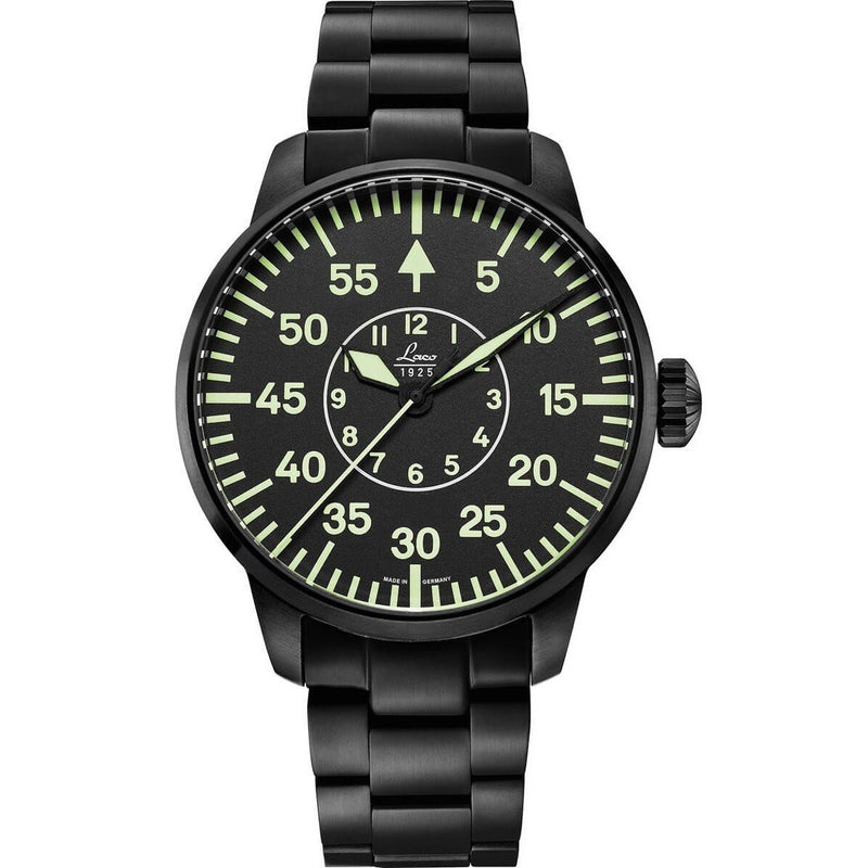 LACO 1925 PILOT WATCHES BASIC SYDNEY 42 MM AUTOMATIC 861890 - Gioielleria Capodagli