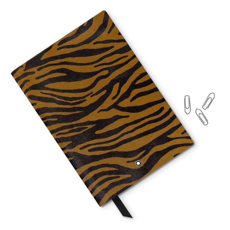 Montblanc notebook notebook 146 striped animal prints Tiger (tiger) luxury stationery 118030