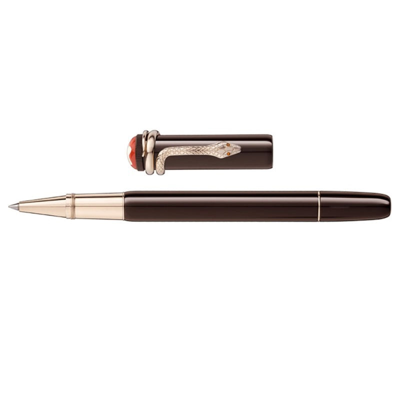 MONTBLANC ROLLER HERITAGE COLLECTION ROUGE & NOIR TROPIC BROWN SPECIAL EDITION 116552