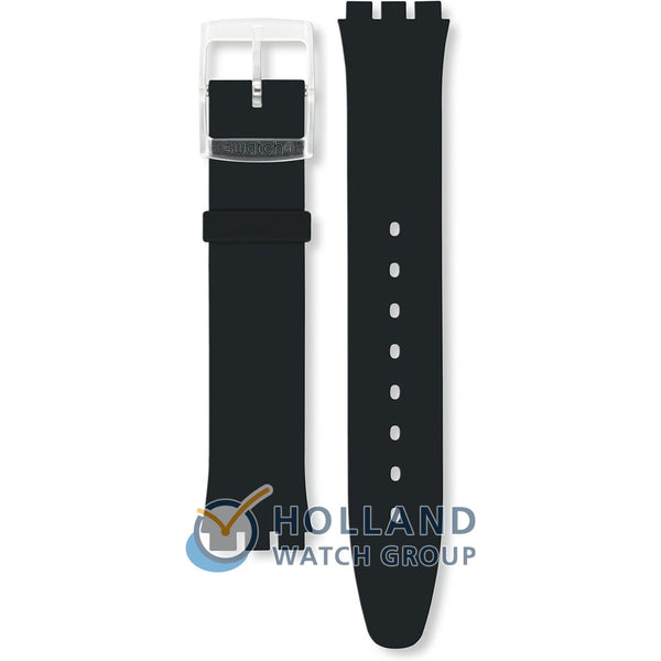 Swatch cinturino orologio BLACK CLASSINESS Originals Skin ASFK361