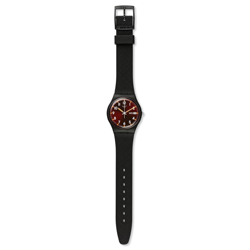 Swatch orologio SIR RED Originals Gent 34mm quarzo GB753