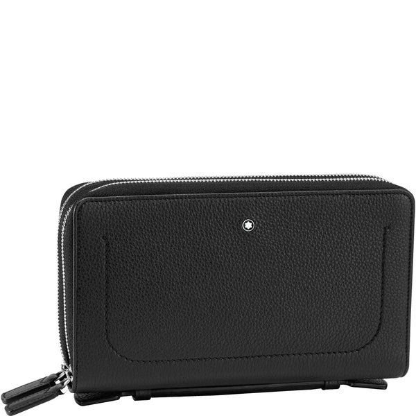 Montblanc travel companion Meisterstück Soft Grain nero 126249