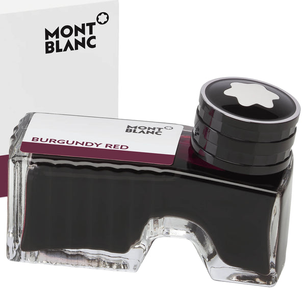 Montblanc boccetta d'inchiostro 60ml Burgundy Red bordeaux 105198