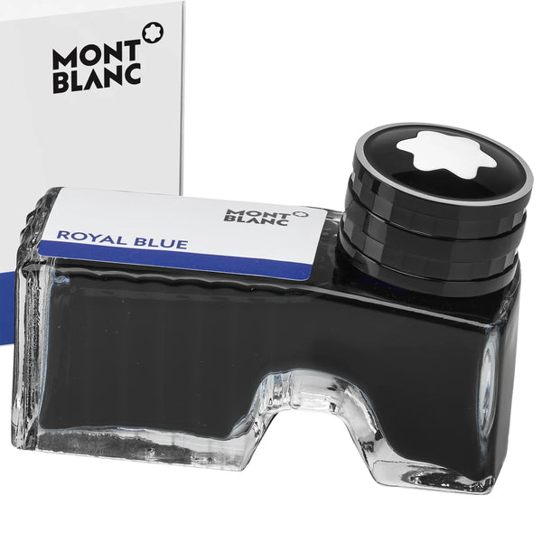 Montblanc boccetta d'inchiostro 60ml Royal Blue blu reale 105192