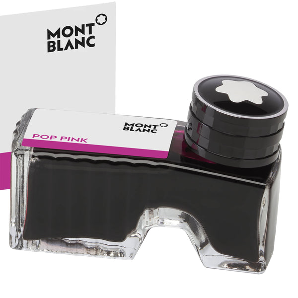 Montblanc boccetta d'inchiostro 60ml Pop Pink rosa shocking 124515
